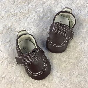 Riley Roos Baby Boy Dress Shoes Size 0-3 Months